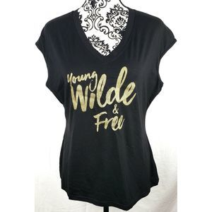 Ellie Wilde Young Wild and Free Shirt Top